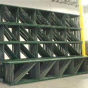 "56 BAYS OF 22'H x 42""D X 96""W TEARDROP STYLE PALLET RACK, (3 BEAM LEVEL)"