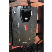 CYBERPOWER 600VA 8 OUTLETS UPS