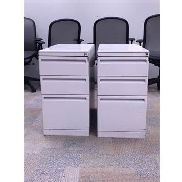 3- DRAWER FILE CABINETS FOR DESK, 2 PCS TIMES MONEY