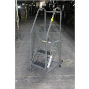 EGA PRODUCTS 3 STEP ROLLING LADDER