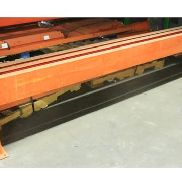 "3 SECTIONS OF 125""W X 24""H HEAVY DUTY MACHINE GUARD RAIL"