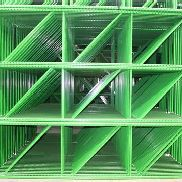 "56 BAYS OF TEARDROP STYLE PALLET RACK, LIKE NEW, SIZE: 12'H x 36""D X 8'W"
