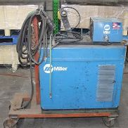 MILLER MILLERMATIC CP-250TS DC ARC WELDER WITH S-22A WIRE FEEDER,