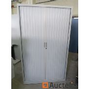 6 metal shutter cabinets