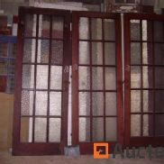 3 glazed doors 15 tiles pitch pine
