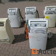 4 Mizushi Mobile Air Conditioning, 1 Olimpia mobile air conditioning (to reconditioned)
