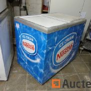 Chest freezer with sliding lids