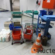 5 Cleaning trolleys and accessories