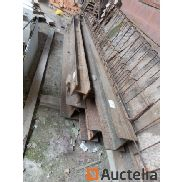 IPE metal beams