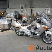 BMW K1200LT Motorcycle (1999 - 121526 km) with trailer