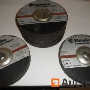 20 disques Metabo 180 mm