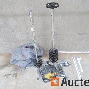 Tire Vertical Supports, Electrical Extension