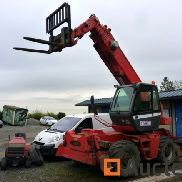 Manitou MRT forklift to recondition (broken engine)