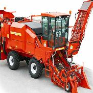 One-row Tomato harvester