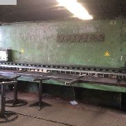 Plate shears - hydraulic SOENEN PS 16-60-500