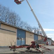 Omme Lift 1250 EBZ trailer mounted aerial platforms