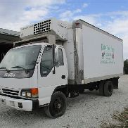 2003 Isuzu NPR Box LKW mit Reefer Unit