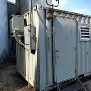 Dual Air Compressors In Cargo Container