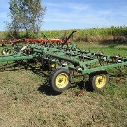 Cult-I-King Cultivador de campo de 30 'con 3 Bar Coil Tine Harrow