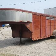 1993 22' Converted T/A Livestock Trailer