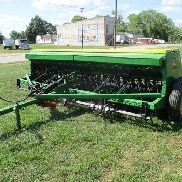John Deere 8300 Grain Drill with Grass Seed Box
