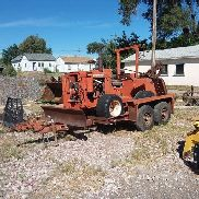 Ditch Witch R65G Trencher and Trailer