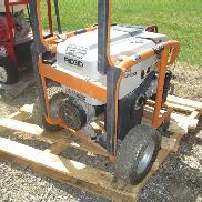 Ridgid 6800 Watt Generator on Cart