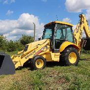 2002 New Holland 675E Loader Backhoe