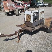 Hobart Champion 16 Portable Welder/Generator on Shop Built Cart