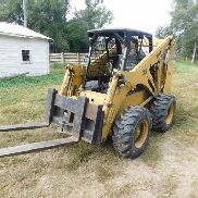 2002 Bobcat 873 Skid Steer w/Forks & Bucket