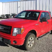 Pick-up à cabine allongée Ford F150 4x4 2013