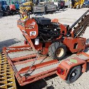 2011 Ditch Witch RT12 Walk-Behind Trencher w/Ditch Witch Trailer