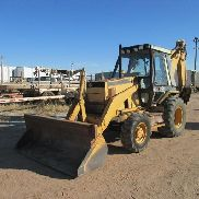 1992 Caterpillar 416B 4x4 Loader Backhoe