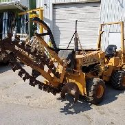 1993 Case 360 ​​Trencher / Kabel Pflug & Backfill Bulldozer