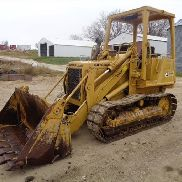 Caterpillar 931B Z Tracked Loader w/Clam Bucket