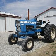 1972 Ford 8600 2WD Tractor