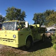 1973 Ford 750 P73M Fire Truck