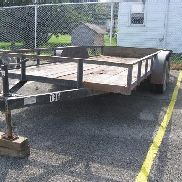 2011 American Utility T/A Trailer