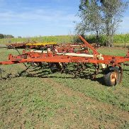 Krause 1083A Chisel Plow w/2 Bar Coil Tine Harrow