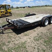 2001 H & H T/A Flatbed Trailer
