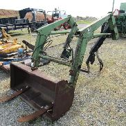 John Deere 70 Front End Loader with Bucket