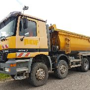 Mercedes-Benz 4143 8x6 Kipper
