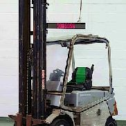CESAB BLITZ250AC | 4 Wheel Electric Forklift Truck