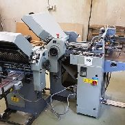 1997 Stahl T36/44-FE Folder, Compact folder for small format leaflets, Flat pile feeder, FESTA fast settings for rollers & slitter shafts, Hook-on stream delivery, Dual action compressor, Including tools, spares & manuals.