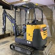 2015 Volvo EC18D Excavator ONLY 460 HRS