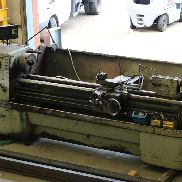 "Colchester Mascot Gap Bed Lathe 80"" With Tooling"