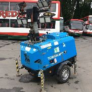 VT1 Hybrid 4 Head Metal 2013 Halide Lighting Tower c/w Kohler Engine