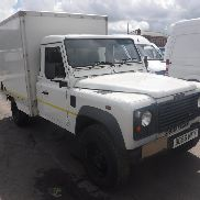 2007 56 reg LANDROVER DEFENDER 130 TD5 UTILITY SINGLE CAB BOX ZURÜCK