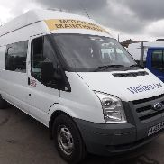 2009 59 reg FORD TRANSIT 115 T350L RWD WELFARE MESSING VAN C / W TOILETTE