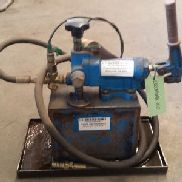 Manual hydraulic pump used